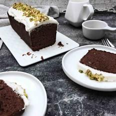 巧克力果核桃仁夹心磅蛋糕