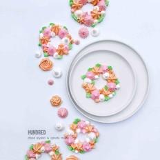 花环蛋白糖