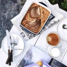 烤燕麦布丁(低脂低热量)