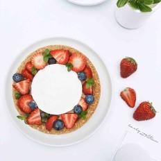 草莓芝士燕麦塔