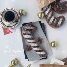 巧克力圣诞拐杖奶酪软欧