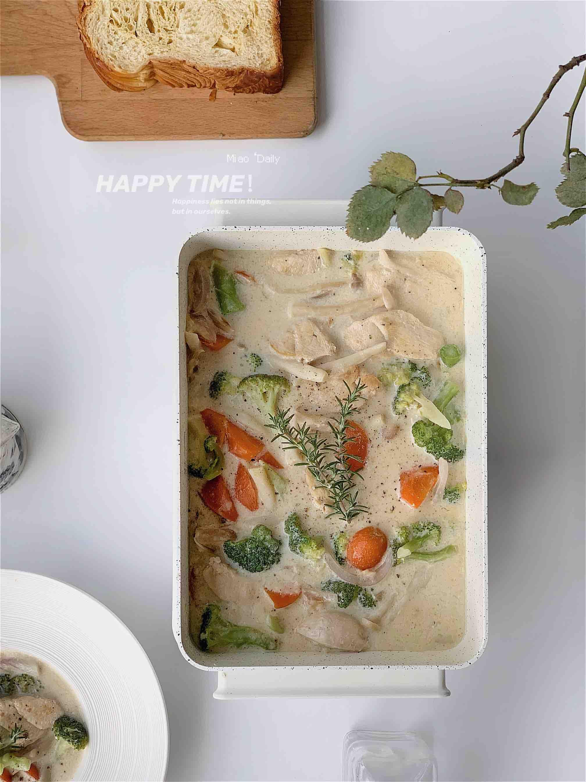 日式奶油炖菜一锅端