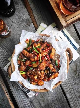 外酥里嫩—麻辣川香炸鱼块的做法