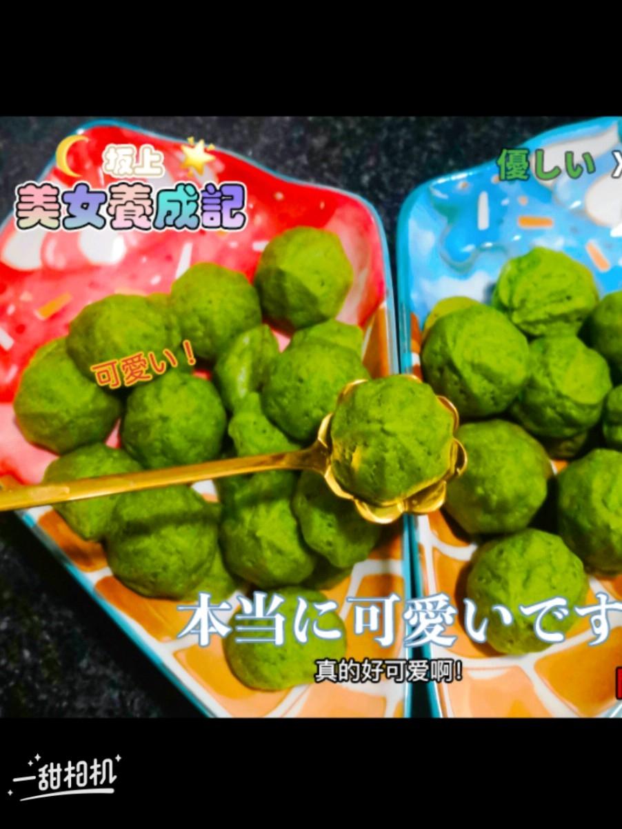 补铁的菠菜溶豆(需要添辅食和不爱吃蔬菜的宝宝)