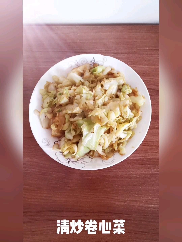 清炒卷心菜