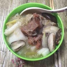 酸菜牛肉粉丝汤