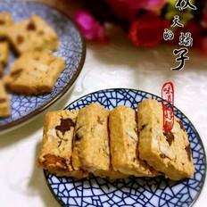 燕麦红枣核桃酥
