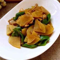 尖椒肉丝土豆片