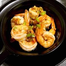 柠香蒜蓉虾