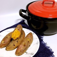 砂锅烤红薯的做法