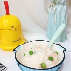 鲜虾豌豆粥