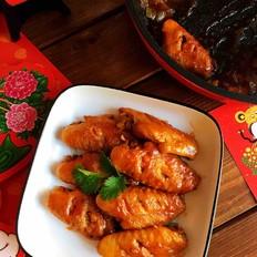 超越传统红烧鸡翅的口感,爱上甜辣鸡翅