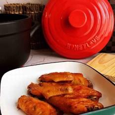 砂锅烤鸡翅的做法
