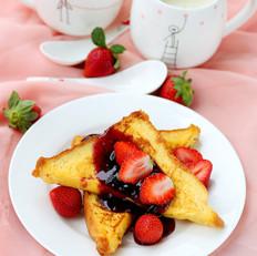 香甜法式水果面包