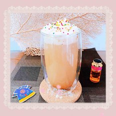 黑糖珍珠拿铁咖啡(脏脏杯)