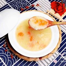 滋补胡萝卜小米粥