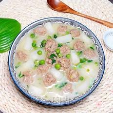 萝卜肉丸汤(10分钟快手菜)