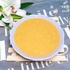 白果莲藕银耳汤(健脾养颜)