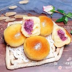 紫薯大米夹心面包