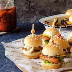 高颜值、超好味的mini汉堡