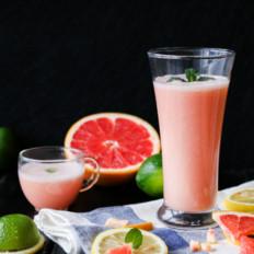 好喝又好看的粉色回忆—西柚银耳汁