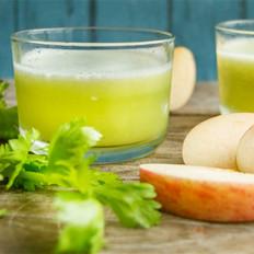 芹菜菠萝苹果汁