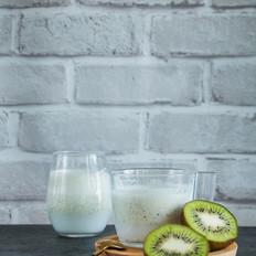 猕猴桃椰汁的奇异口感