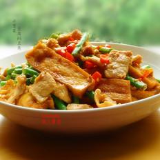 豆腐焖豆角
