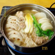 香浓牛肉味清汤火锅