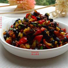 香葱豆豉辣椒