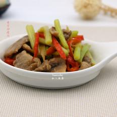 香芹炒肉片