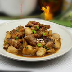 酱香鸡爆杏鲍菇