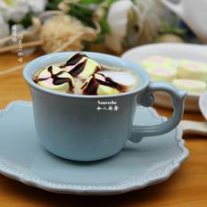 暖暖巧克力咖啡