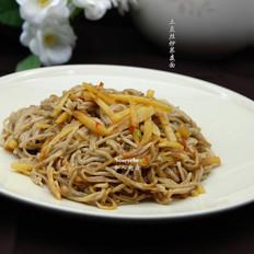 土豆丝炒荞麦面