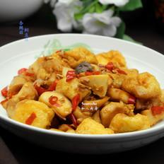 杏鲍菇焖豆腐