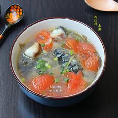 西红柿鱼汤