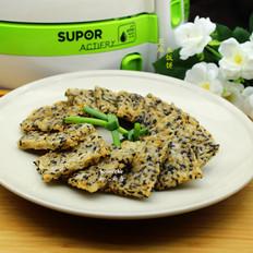 芝麻米饭饼