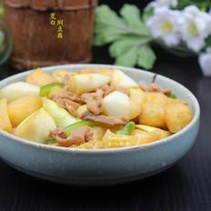 茭白焖豆腐