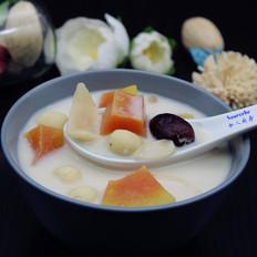 莲枣百合木瓜汤