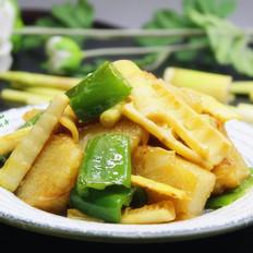 春笋炒粽子