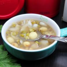 莲子百合绿豆粥