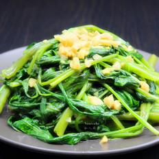蒜蓉炒通菜