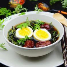 艾叶红枣煮蛋