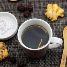 冬天热饮,红枣姜茶
