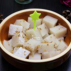 桂花猪皮冻