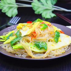 虾米炒粉丝
