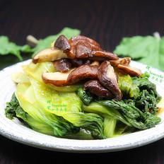 香菇炒生菜