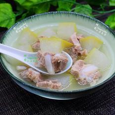 健脾祛湿,冬瓜薏米排骨汤