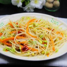 泡菜炒豆芽