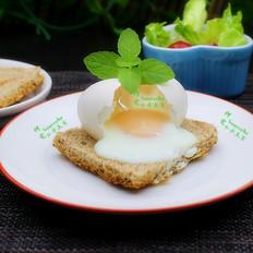 太阳蛋煎吐司